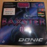 バランス型ドイツテンション表<br>「DONIC BAXTER F1・A」 2.0