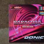 サウンド系テンション中では硬め<br>「DONIC BARACUDA BIGSLAM」