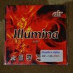 薄いスポンジがボールを掴む「air illumina α 」45°1.0mm ホワイトスポンジ