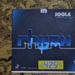 唯一異なるスポンジを採用 「JOOLA rhyzm 425」 2.0mm