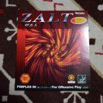 独自スポンジを使用 使いやすさ重視<br>「Nittaku ZALT」