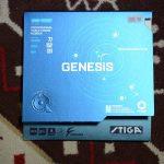 回転のかけやすさ+程よい弾みが特徴<br>「STIGA GENESIS M」