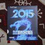 未打底版ながら弾性は良好<br>「TUTTLE 2015(青スポンジ)」 38度